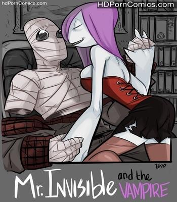 Porn Comics - Mr Invisible & The Vampire