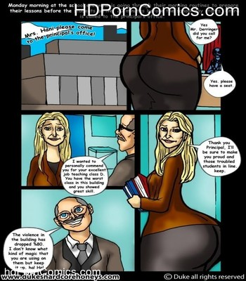 Porn Comics - Mrs Hani 3,4 -Big Ass Lebanese Teacher free Cartoon Porn Comic