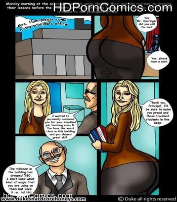 Porn Comics - Mrs Hani 3,4 -Big Ass Lebanese Teacher free Cartoon Porn Comic