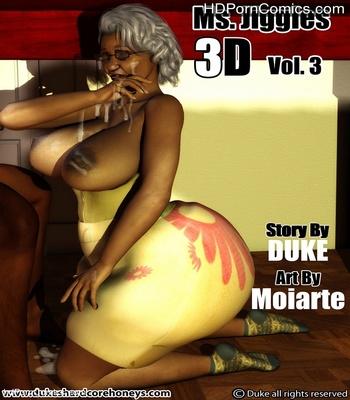 Porn Comics - Ms Jiggles 3D 3 Sex Comic