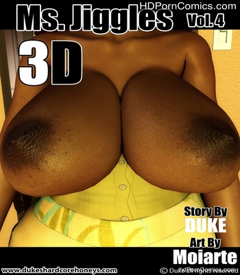 Porn Comics - Ms Jiggles 3D 4 Sex Comic