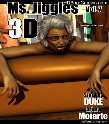 Porn Comics - Ms Jiggles 3D 7 Sex Comic