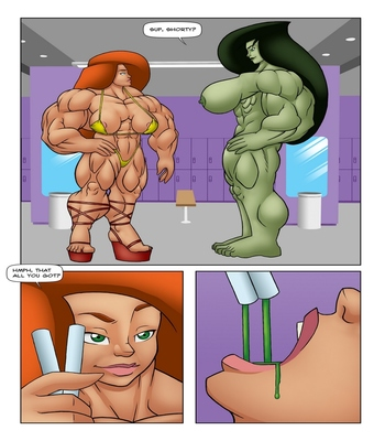 Muscle Contest 14 free sex comic