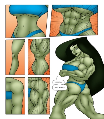 Muscle Contest 9 free sex comic