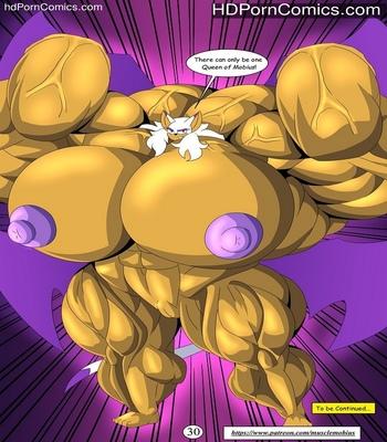 Muscle Mobius 3 comic porn