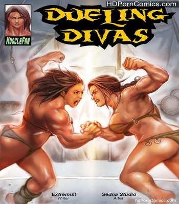 Porn Comics - Musclefan- Dueling Divas free Cartoon Porn Comic