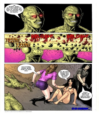 Mutant's World 3 – The Rebels Strike Back Sex Comic