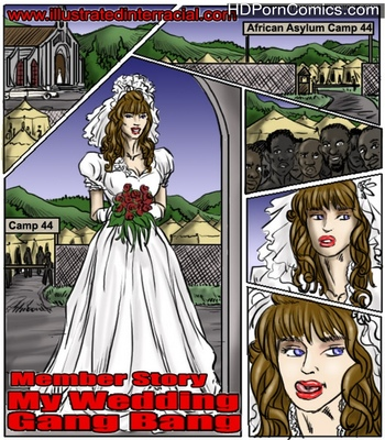 Porn Comics - My Wedding Gang Bang