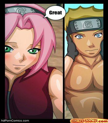 Naruto & Sakura Sex Comic