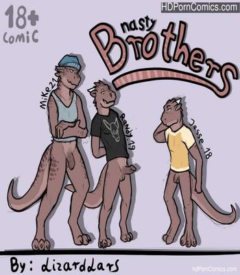 Porn Comics - Nasty Brothers Sex Comic
