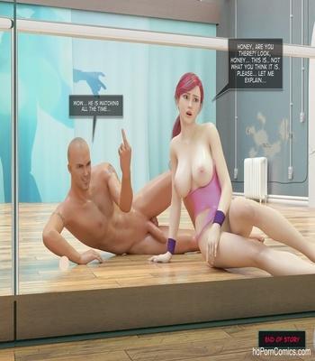 Night In The Studio Sex Comic