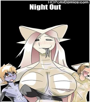 Porn Comics - Night Out Sex Comic