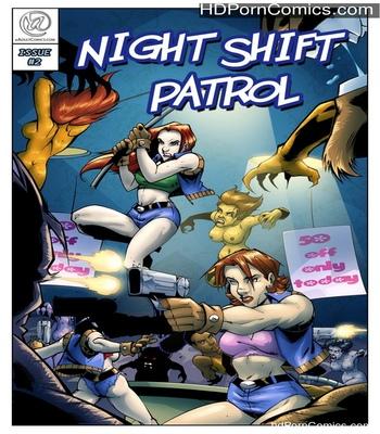Porn Comics - Night Shift Patrol 2 Sex Comic