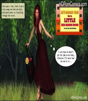 Porn Comics - Not So Little Red Riding Hood