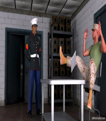 Nova- Two Sorceress Fuck with Military free Cartoon Porn Comic sex 3