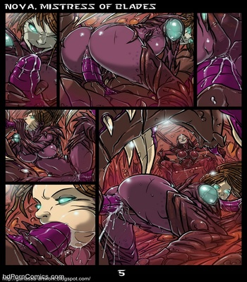 Nova, Mistress Of Blades 6 free sex comic