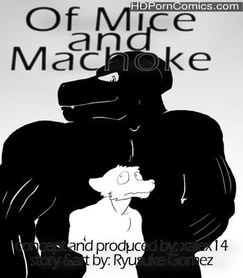 Porn Comics - Of Mice And Machoke Sex Comic
