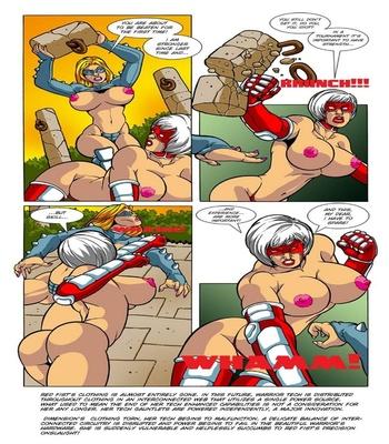 Omega Fighters 1 – Red Fist VS Dimension Sex Comic sex 4