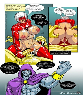 Omega Fighters 12 Sex Comic