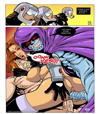 Omega Fighters 23 Sex Comic