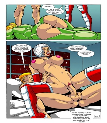 Omega Fighters 3 – Red Fist VS Polly Punch Sex Comic sex 6