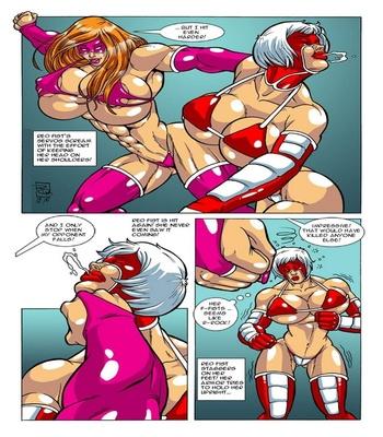 Omega Fighters 6 – Red Fist VS Titanya Sex Comic sex 4