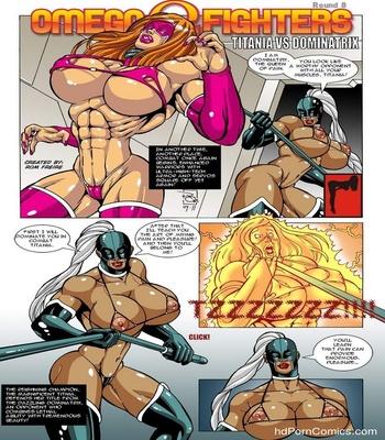 Omega Fighters 8 – Titania VS Dominatrix Sex Comic sex 2