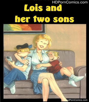 Porn Comics - PBX – Lois and Her Two Sons free Cartoon Porn Comic