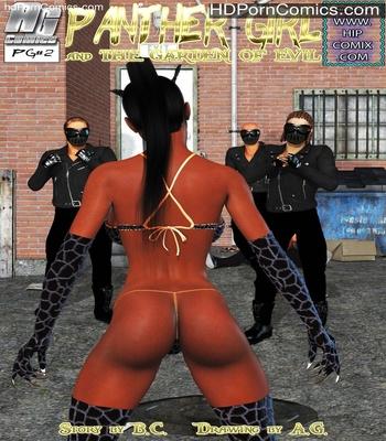 Porn Comics - Panther Girl 2 Sex Comic