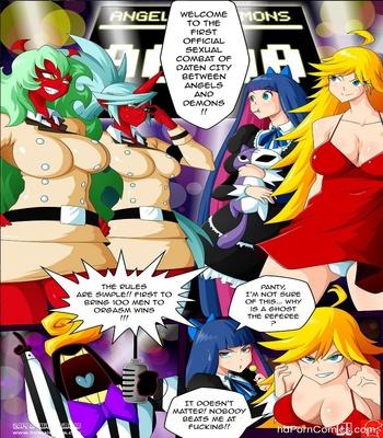 Panty & Stocking Angels vs Demons 2 free sex comic