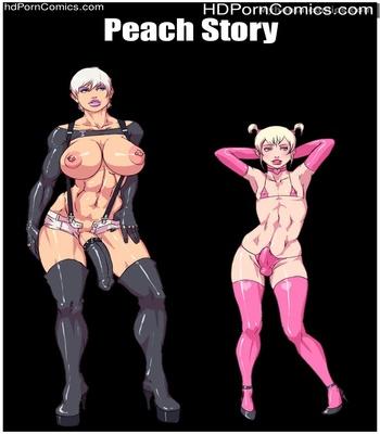 Porn Comics - Peach Story Sex Comic
