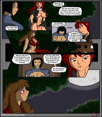 Pirates vs Ninjas Sex Comic sex 15
