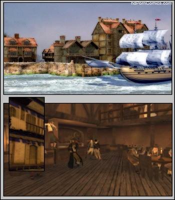 Pirates vs Ninjas Sex Comic sex 2