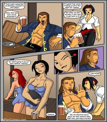 Pirates vs Ninjas Sex Comic sex 3