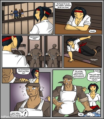 Pirates vs Ninjas Sex Comic sex 5