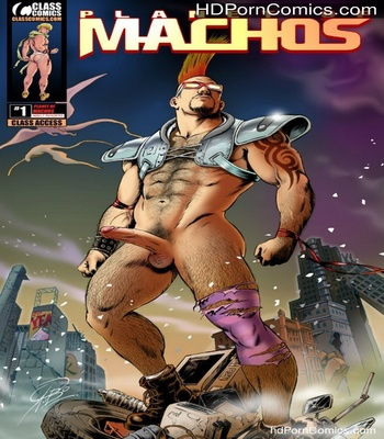 Porn Comics - Planet Of Machos Sex Comic