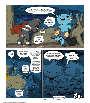 Playing With Fire Part 2 comic porn