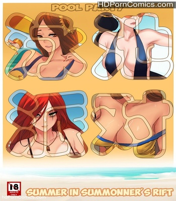 Porn Comics - Pool Party – Summer In Summonner's Rift Sex Comic
