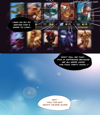 Pool Party – Summer In Summonner's Rift Sex Comic sex 3