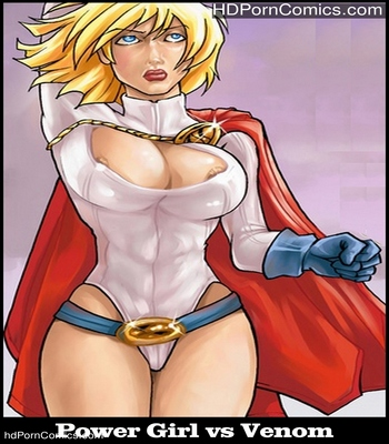 Porn Comics - Power Girl vs Venom Sex Comic