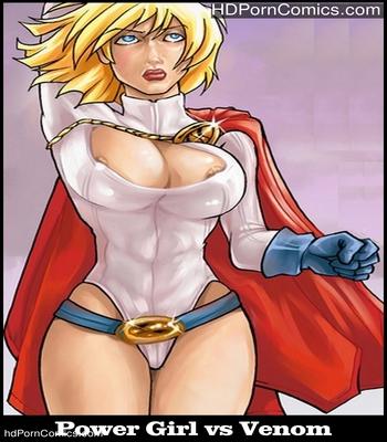 Porn Comics - Power Girl vs Venom Sex Comic
