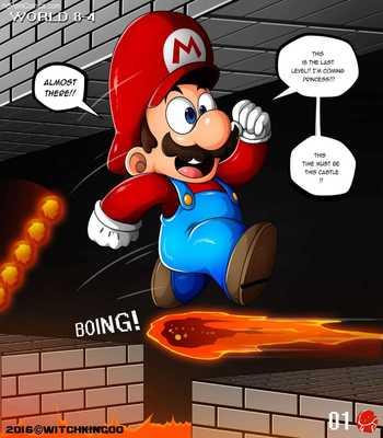 Princess Peach- Thank You Mario2 free sex comic