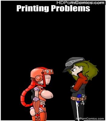 Porn Comics - Printing Problems Sex Comic