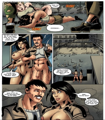 Prison Bitches 2 comic porn