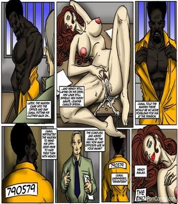 Prison Control Sex Comic