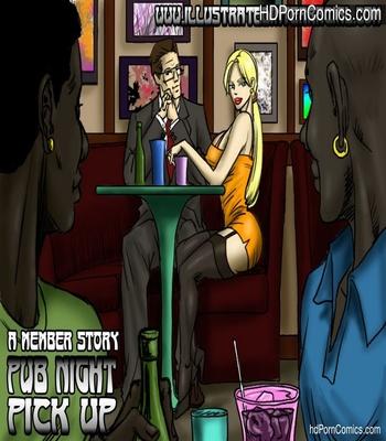 Porn Comics - Pub Night Pick Up Sex Comic