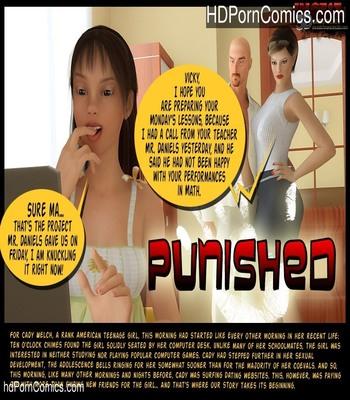 Porn Comics - Punished Sex Comic