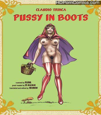 Porn Comics - Pussy In Boots Sex Comic