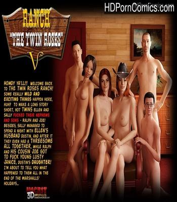 Porn Comics - Ranch – The Twin Roses 5 Sex Comic