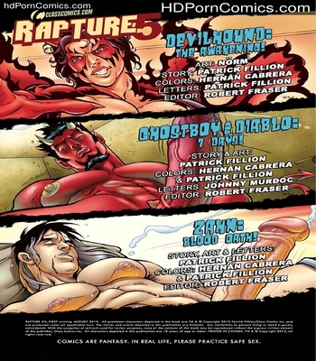 Porn Comics - Rapture 5